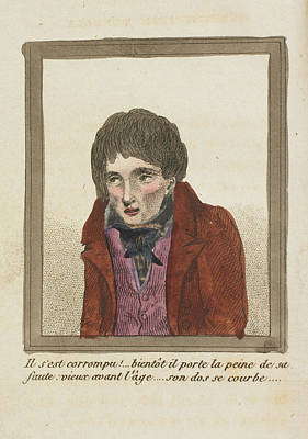 Self Photograph - Young Man With Sunken Cheeks by British Library