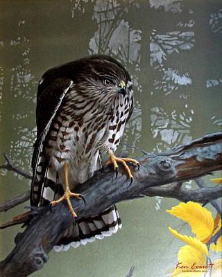 England Artist Painting - Young Sharpie by Ken Everett