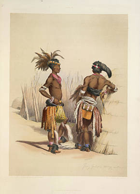 Young Zulus Print by British Library