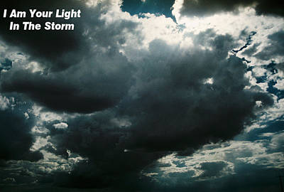 Your Light In The Storm Print by Belinda Lee