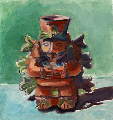 Yucatan Prince Print by Pattie Wall
