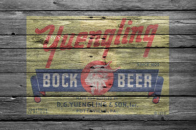 Handcrafted Photograph - Yuengling Bock Beer by Joe Hamilton