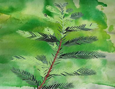 Yuletide Print by Kandy Hurley