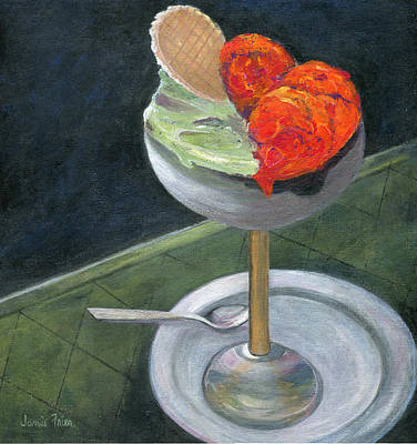 Scoop Painting - Yummy by Jamie Frier