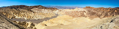 Zabriskie Point In Death Valley Print by Panoramic Images