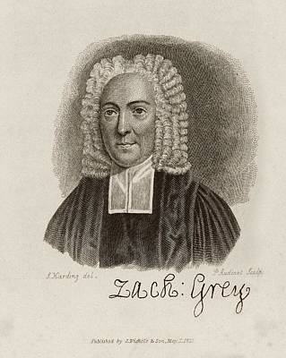 Zacharey Grey Print by Middle Temple Library