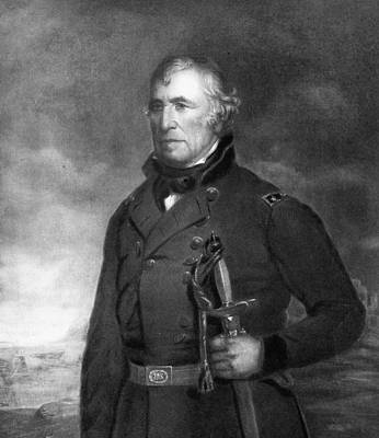 Black History Painting - Zachary Taylor by Eliphalet Frazer Andrews