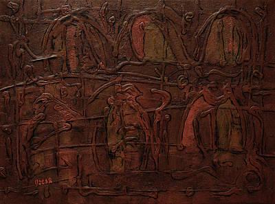 City Scenes Painting - Zakish by Oscar Penalber
