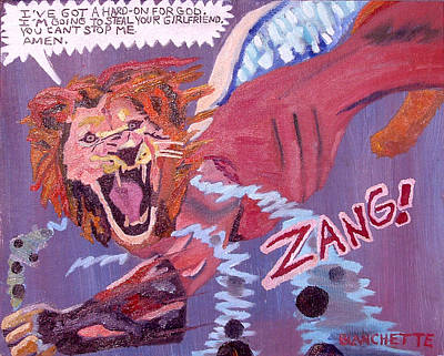 Fantasy Painting - Zang by John Paul Blanchette