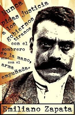 Zapatismo Print by Michelle Dallocchio