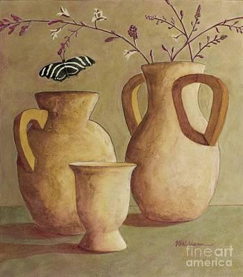 Zebra Painting - Zebra Butterfly by Sandra Neumann Wilderman