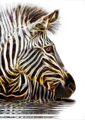 Zebra Crossing Print by Michael Durst