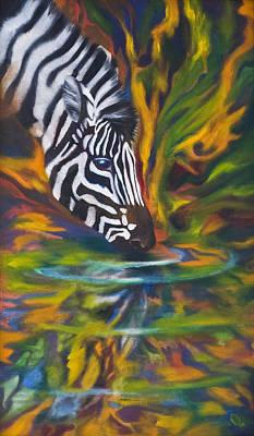 Zebra Print by Kd Neeley