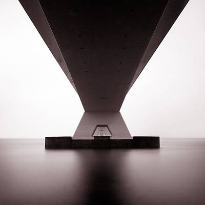 Underneath Photograph - Zeelandbrug 1 by Dave Bowman