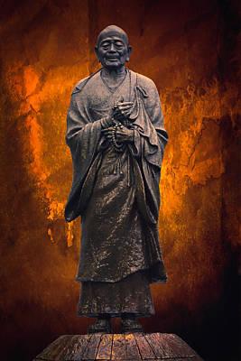Zen Buddhism Deity Print by Daniel Hagerman