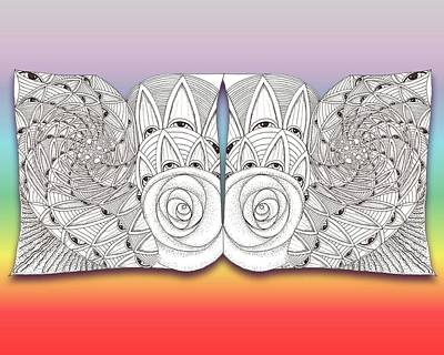 Zen Eyes Print by Melinda DeMent