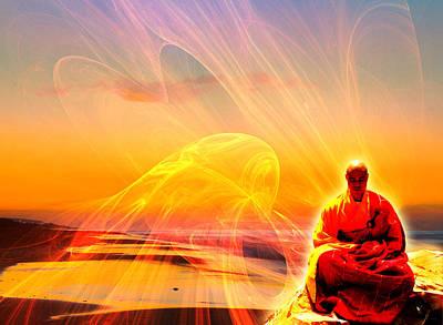 Zen Master Print by Shawna Rowe