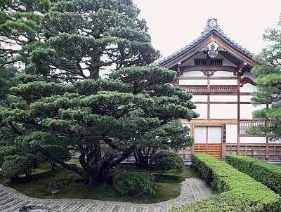 Zen Priests Quarters - Kyoto Japan Print by Daniel Hagerman