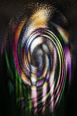 Zenyatta Digital Art - Zenyatta - Stain Glass by Suzanne L Kish