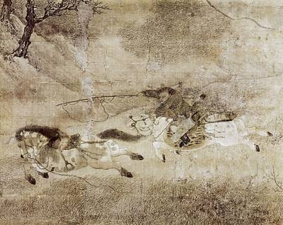 Zhao Mengfu  1254-1322. Capture Print by Everett