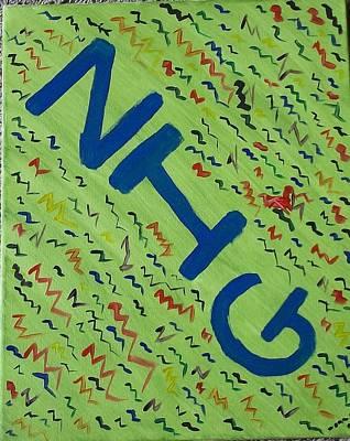 Zigzag-part 1 Zig Original by Nannette Kelly