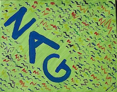 Zigzag-part 2 Original by Nannette Kelly
