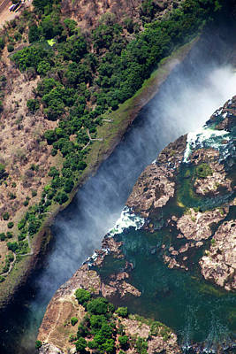 Zimbabwe, Victoria Falls Print by Kymri Wilt