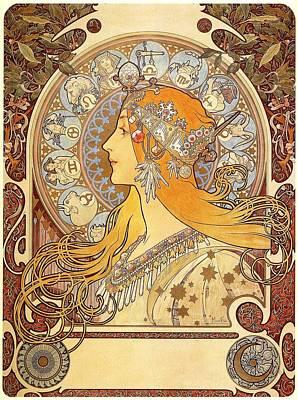Zodiak 1896 Print by Philip Ralley