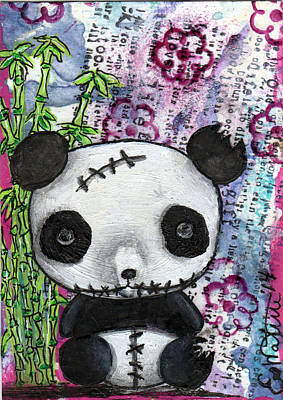 Oddling Mixed Media - Zombiemania 2 by Lizzy Love