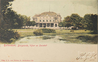 Citylife Photograph - Zoo In Rotterdam In 1901 by Patricia Hofmeester