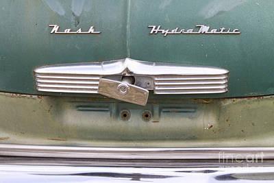 1951 Nash Ambassador Hydramatic Back Print by James BO  Insogna