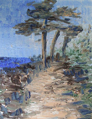 Painting -  3 By The Sea by Michel Croteau