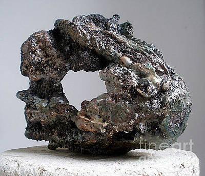 Hypertufa Ceramic Art - - Art Reef Rock Series Planter Sculpture Set Of 2 - Sold by Randy Stewart
