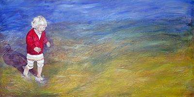Joyful Drawing -  Free Spirit by Peter Edward Green