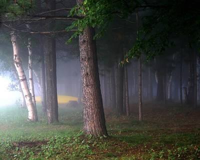 Jim Nelson Photograph -  Morning Mist by Jim Nelson