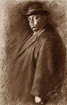 B.i.g Drawing -  Notorious B I G  by Ylli Haruni