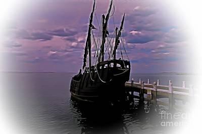 Notorious The Pirate Ship 5 Print by Blair Stuart