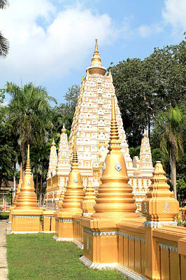 Stupa  Print by Panyanon Hankhampa