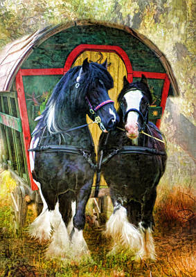 Travellers Print by Trudi Simmonds
