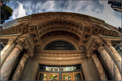 008 Architectural Beauty Of Downtown Buffalo Series Print by Michael Frank Jr