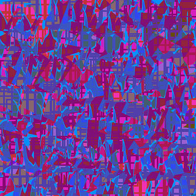 0671 Abstract Thought Print by Chowdary V Arikatla