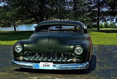 1949 Mercury Lead Sled Print by Tim McCullough