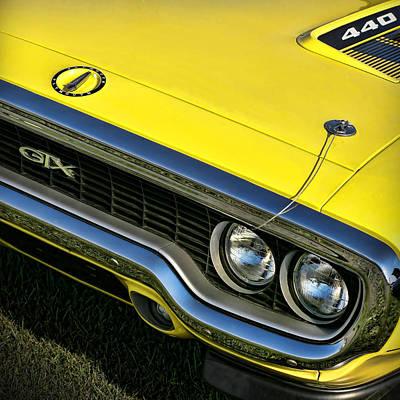 1971 Plymouth Gtx 440 Print by Gordon Dean II