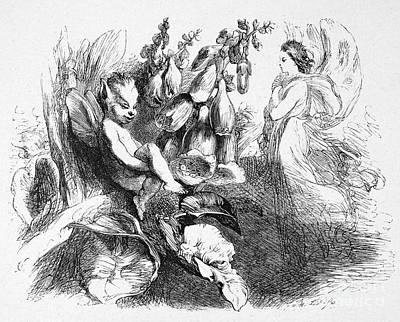 A Midsummer Nights Dream Print by Granger