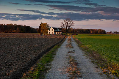 Abandoned Farm House Print by Cale Best