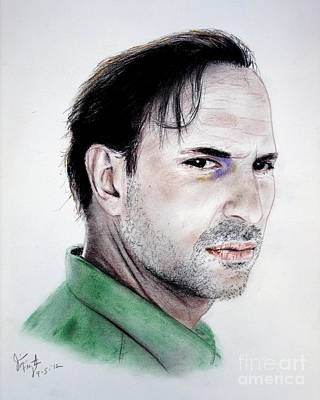 Actor Oscar Torre Print by Jim Fitzpatrick