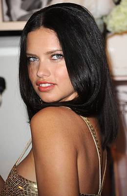 Perfume Fragrance Scent Launch Photograph - Adriana Lima At In-store Appearance by Everett