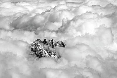 Rhone Alpes Photograph - Aiguille Du Midi by Ellen van Bodegom
