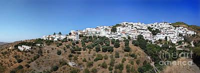 Andalusia Photograph - Albondon Pano by Jane Rix