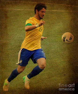 Neymar Photograph - Alexandre Pato II by Lee Dos Santos
